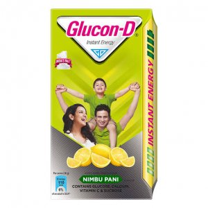 Glucon-D Nimbu Pani 200gm MRP 64/-(6PCS)