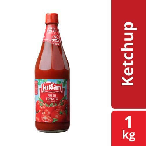 Kissan Fresh Tomato Ketchup, 1 kg*12=12 Bottle