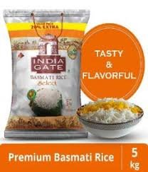 India Gate Basmati Rice Select 5kg MRP 710/-