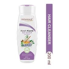 Patanjali Kesh Kanti Anti-Dandruff Hair Cleanser 200ML MRP-110/-