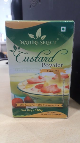 Nature Select Custard Powder Vanilla 100g MRP-37/-