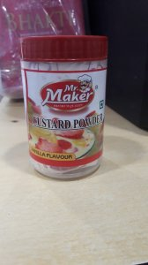 Mr Maker Custard Powder Vanilla 100g MRP-40/- (10 PCS)
