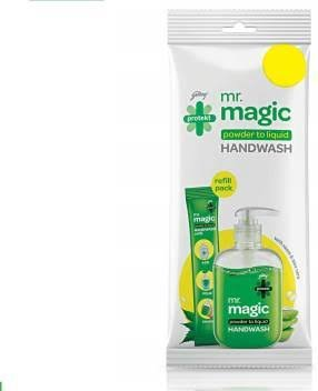 Godrej Mr Magic Hand Wash 9gm MRP 15/- (10PCS)