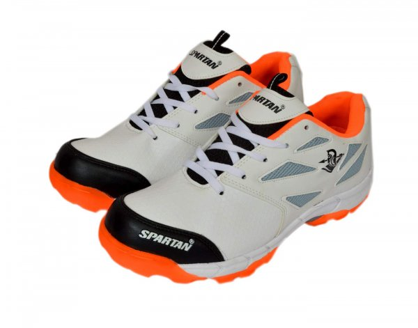 Spartan Plus Orange Cricket Shoes for Men MRP 1699/-