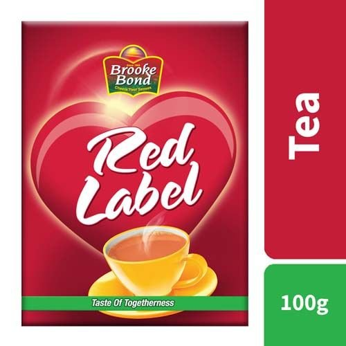 Red Label Tea, 100 gm -MRP - 30/(10PCS)