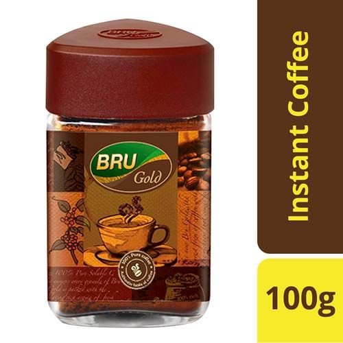 Bru Instant Coffee - Gold, 100 gm
