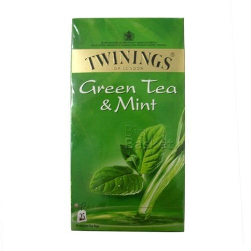 Twinings Green Tea - Mint, 25 pcs Box