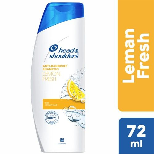 Head & Shoulder Anti-Dandruff Shampoo - Lemon Fresh, 72 m