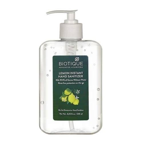 Biotique AloeVera Hand Sanitizer 250ml MRP-175/-