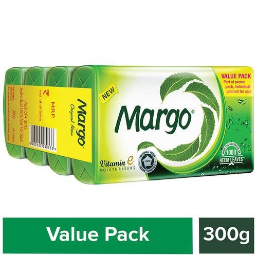 Margo Soap 4*75gm  each MRP 85/-