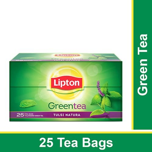 Lipton Green Tea - Tulsi Natura, 25 pcs