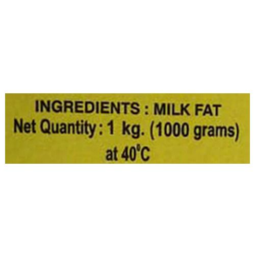 Goras Cows Ghee, 1 kg*10=10 PACKS
