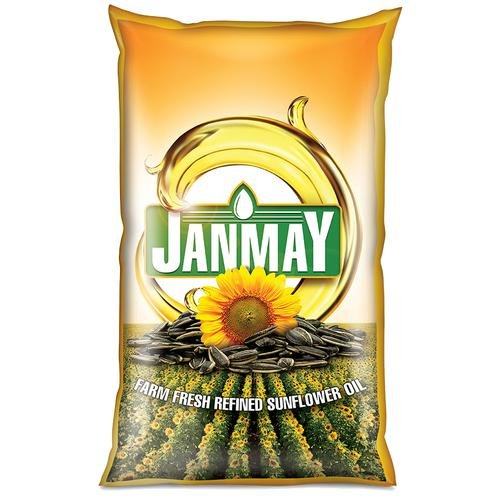 Janmay Sunflower Oil 1ltr MRP 150/-