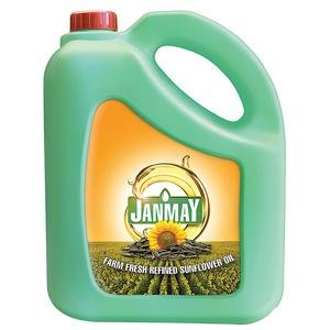 Janmay Refined Sunflower Oil 5ltr MRP 700/-
