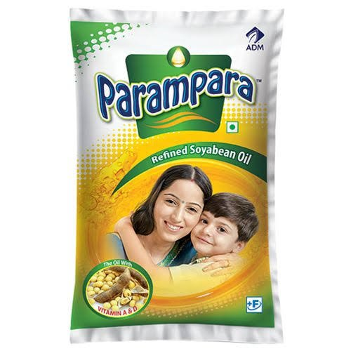 Parampara soyabeen oil(1ltr*16=16 ltrs)(10 Box)
