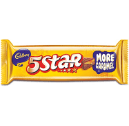 Cadbury 5 Star  Box MRP 5/- (54 PCS)