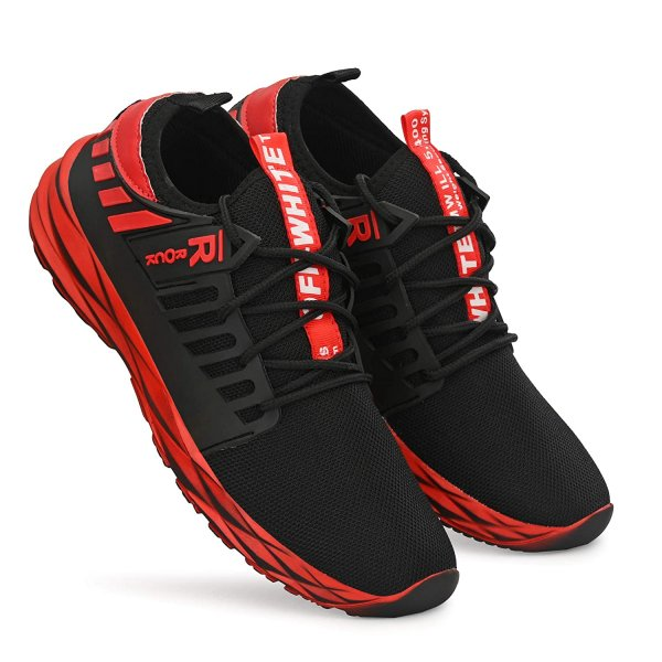 K' FOOTLANCE Men's Air Series Running Shoes + Causal Shoes + Sports Shoes + Walking Shoes + Shoes for Men MRP 999/-