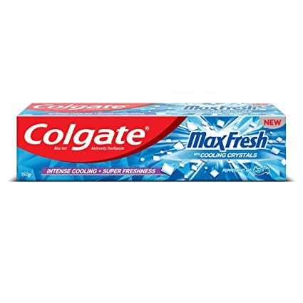 COLGATE MAX FRESH BLUE GEL 150GM MRP 95/-