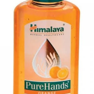Himalaya orange hand sanatizer 100ml 50/-