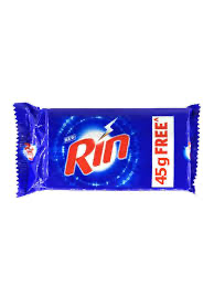 Rin Bar 140+45gm MRP 10/-(60PCS)
