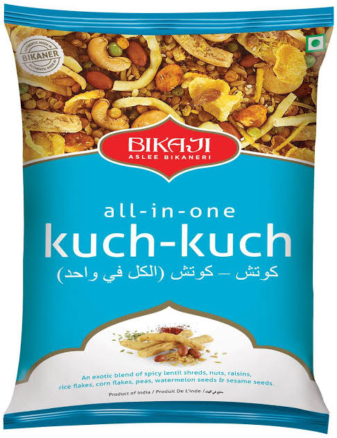 Bikaji All-in-One Kuch Kuch 17gm MRP 5/-(24Pcs)