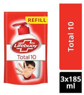Lifebuoy Total 10 MRP 113/- 185ml ( 8 set)