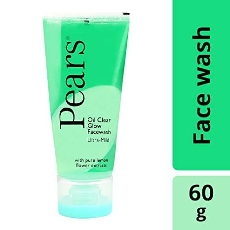 Pears oil clean Glow Facewash 60gm MRP 150/-