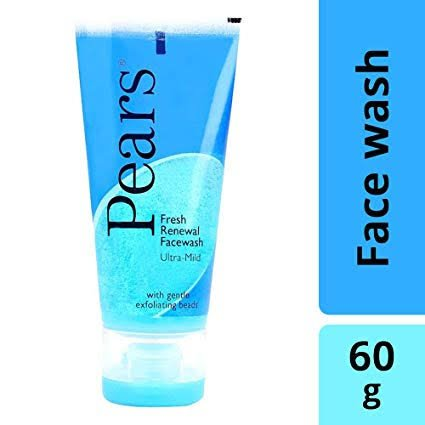 Pears Fresh Renewal Facewash  60gm MRP 150/-