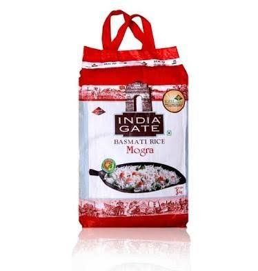 India Gate Basmati Rice Mogra 5kg MRP 342/-