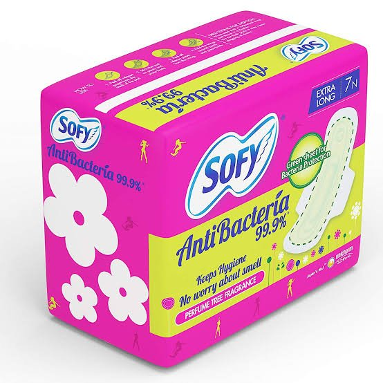 Sofy Extra Long 7Pads MRP 59/-