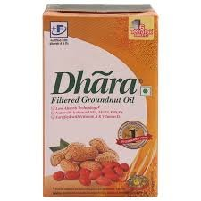 Dhara Groundnuts Oil 1ltr MRP 200/-