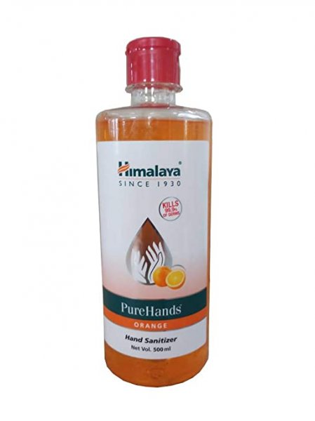 Himalaya  Orange Hand Sanitizer  500ml MRP 250/-