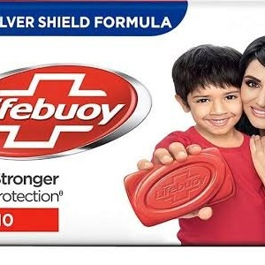 Lifebuoy silver shield protection 100gm Total MRP 16/-