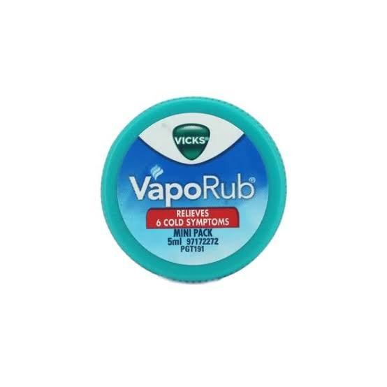 Vicks VapoRub 5ml MRP 20/-(12PCS)