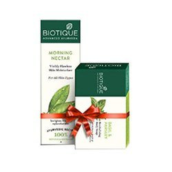 Biotique Bio Morning Nectar Skin Moisturizer 120ml FREE Bio Basil & Parsley Soap 75G MRP-199/-
