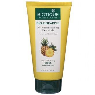 Biotique Bio Pineapple Oil Control Face Wash 150ml MRP-179/-