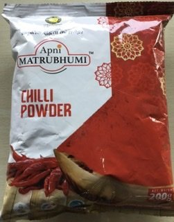 Apni Matrubhumi Chilli Powder 200gm MRP 60/-(25PCS)