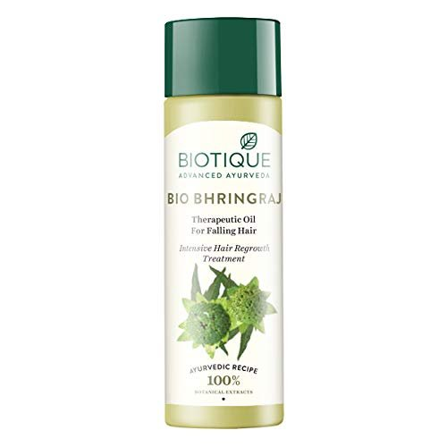 Biotique Bio Bhringraj Therapeutic Oil 120ml MRP-159/-