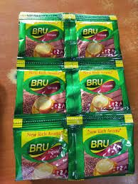BRU INSTANT   COFFEE   2.2GM  12PC  MRP 2/-