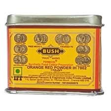 Bush Food Colour Prepration Orange Red Powder  100g MRP-58/-