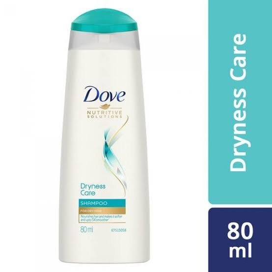 Dove Dryness Care shampoo 80ml MRP 55/-