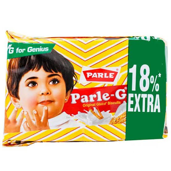 Parle-G ORIGNAL GLUCO BISCUITS 55+10gm MRP 5/-(144PCS) (5 BOX)