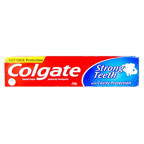 Colgate Strong Teeth Toothpaste 200gm MRP 95/-(12PCS)
