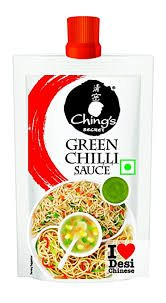 CHING'S GREEN CHILLI SAUCE 90GM MRP 20/-
