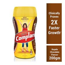 Complan Royal Chocolate  JAR 200GM  MRP-115/-