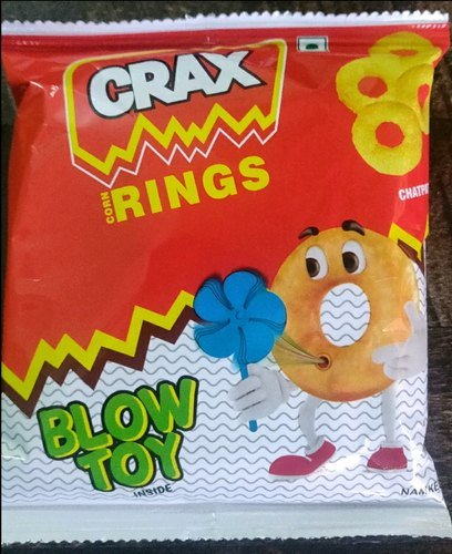 Crax Rings Chatpatta 14g MRP-5/-(12 Pcs)