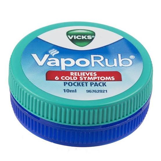 VICKS VapoRub 10ml  MRP 38/-(12 pcs)