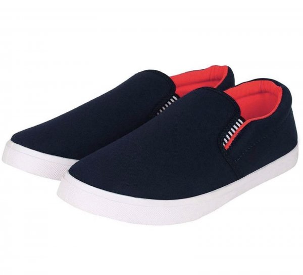 Ad clicks Black color Slip On Closure Casual Shoe For Men MRP 499/-