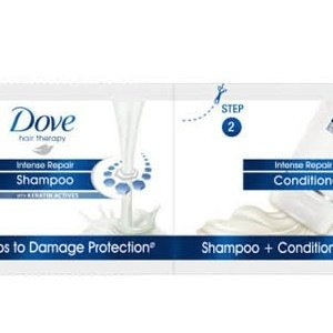 Dove intense repair Shampoo MRP5/-