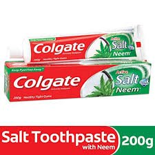COLGATE ACTIVE SALT NEEM 200GM MRP97/-